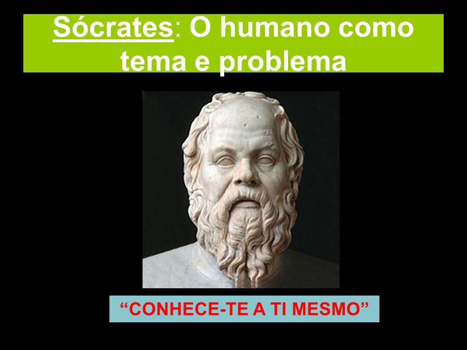 Sócrates: O humano como tema e problema