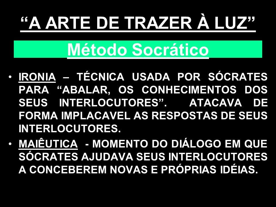 A ARTE DE TRAZER À LUZ Método Socrático