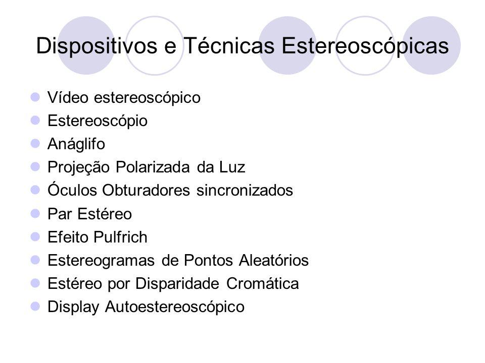 Dispositivos e Técnicas Estereoscópicas