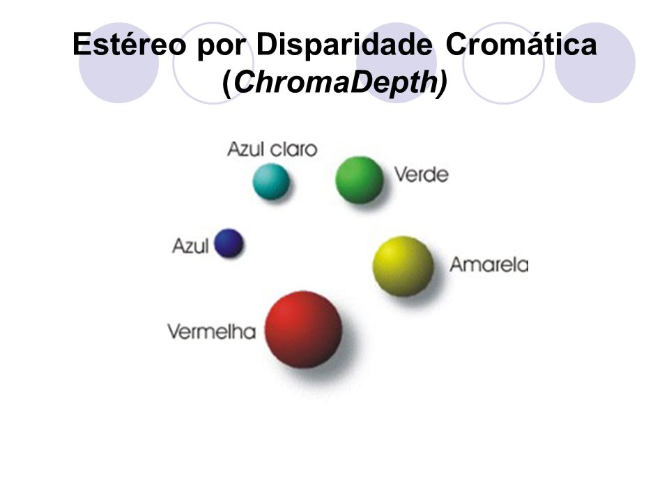 Estéreo por Disparidade Cromática (ChromaDepth)