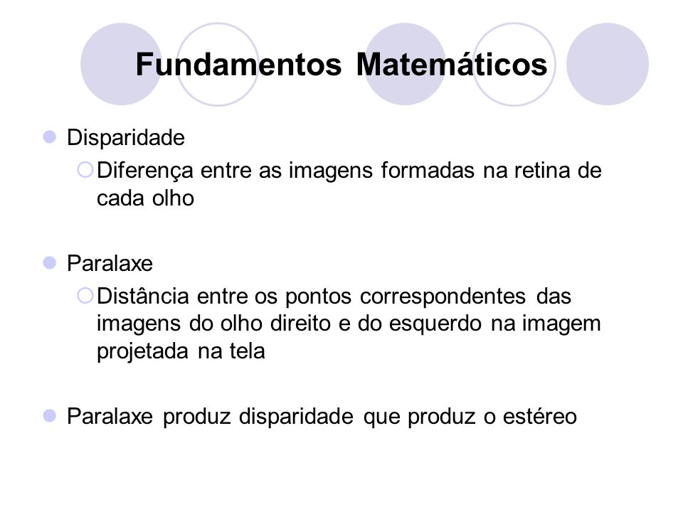 Fundamentos Matemáticos