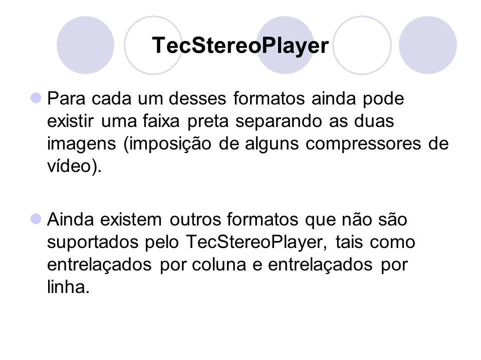 TecStereoPlayer