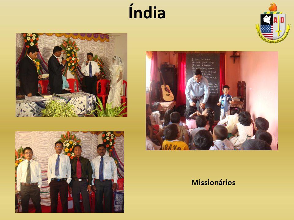Índia Missionários