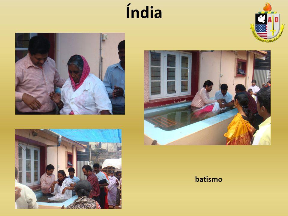Índia batismo