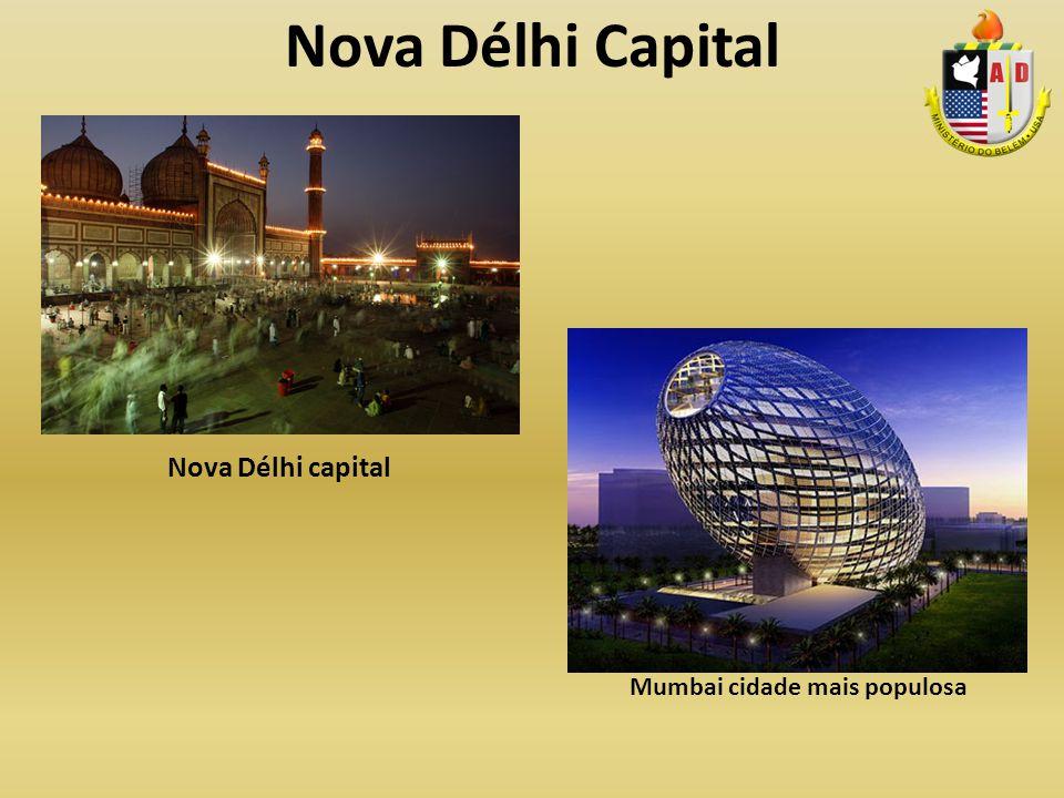 Mumbai cidade mais populosa