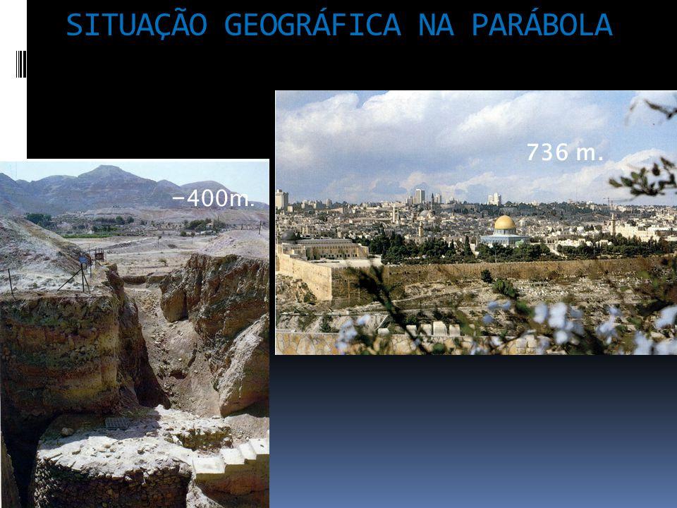 SITUAÇÃO GEOGRÁFICA NA PARÁBOLA