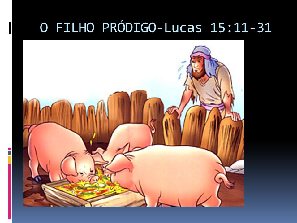 O FILHO PRÓDIGO-Lucas 15:11-31