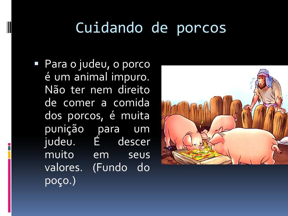 Cuidando de porcos