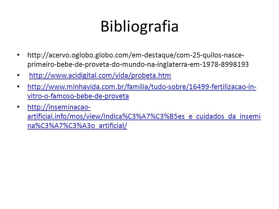 Bibliografia http://acervo.oglobo.globo.com/em-destaque/com-25-quilos-nasce-primeiro-bebe-de-proveta-do-mundo-na-inglaterra-em-1978-8998193.