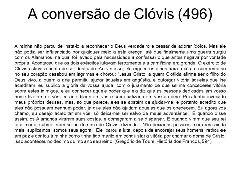 A conversão de Clóvis (496)