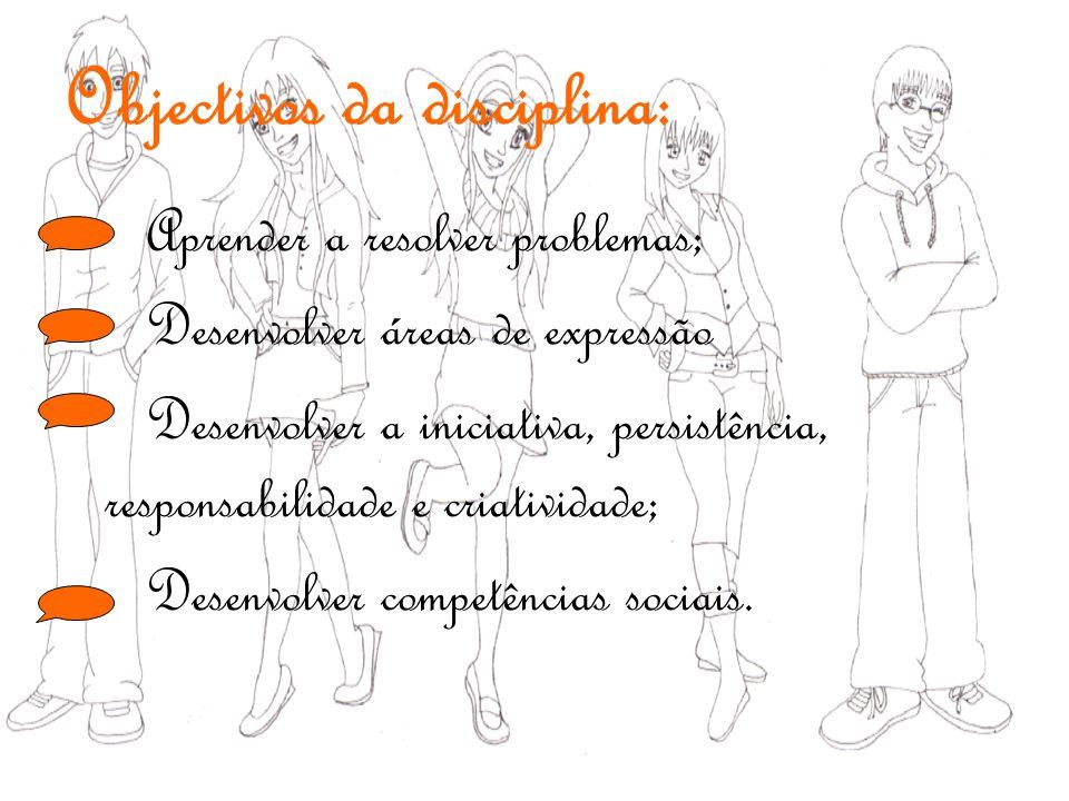 Objectivos da disciplina:
