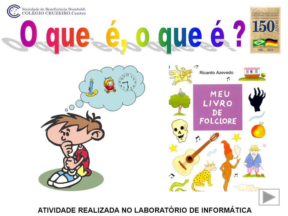 ATIVIDADE REALIZADA NO LABORATÓRIO DE INFORMÁTICA