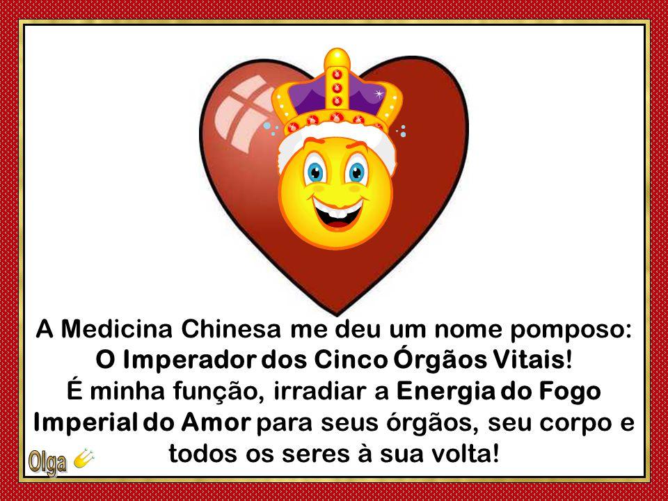 A Medicina Chinesa me deu um nome pomposo: O Imperador dos Cinco Órgãos Vitais.