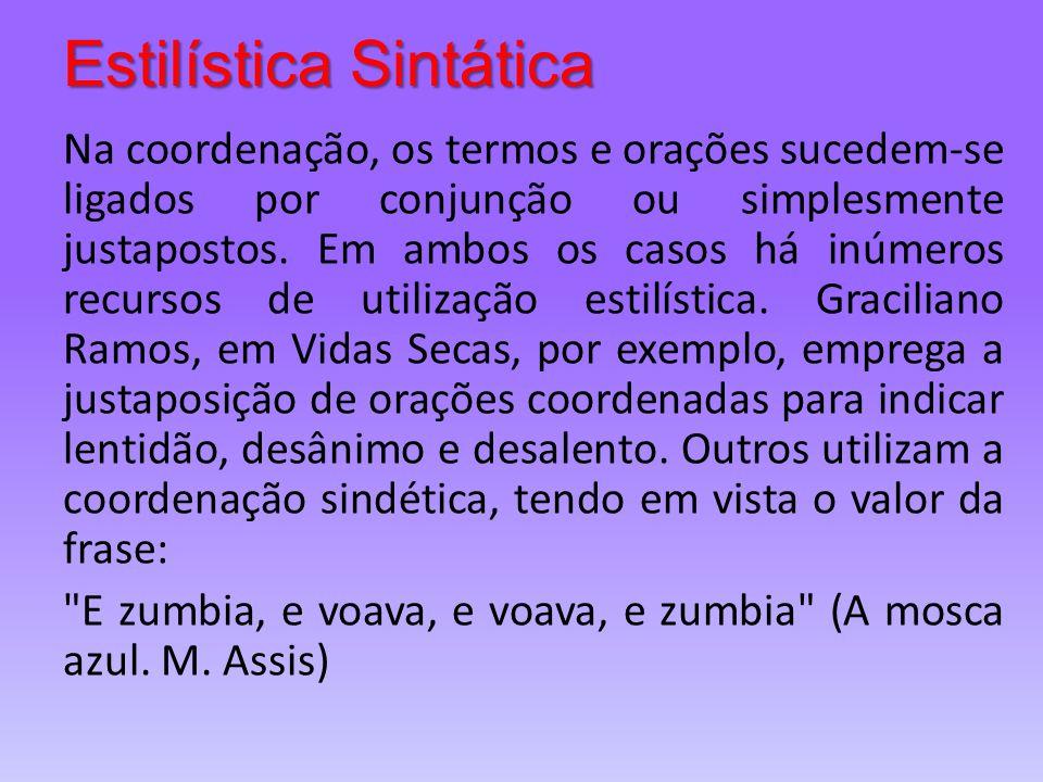 Estilística Sintática
