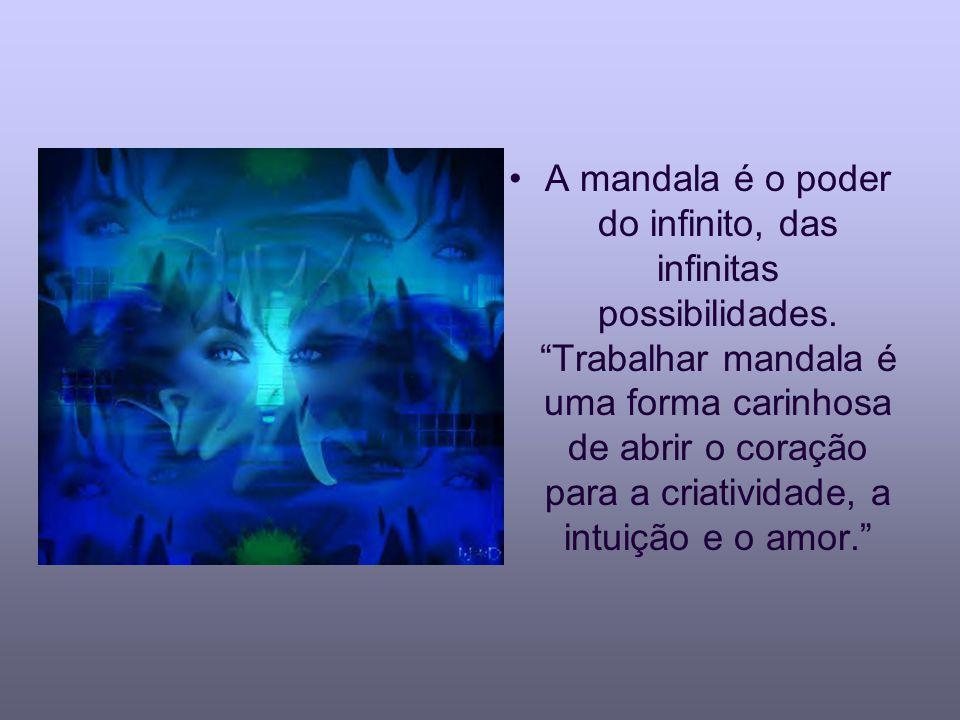 A mandala é o poder do infinito, das infinitas possibilidades