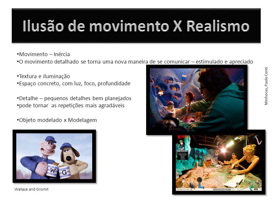 Ilusão de movimento X Realismo