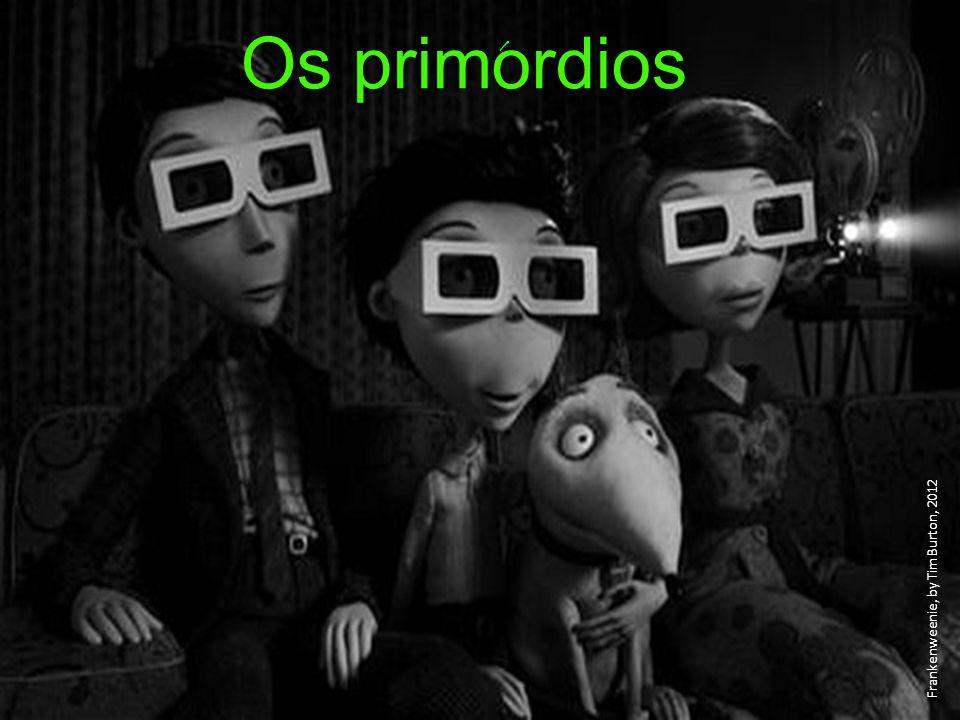 ´ Os primordios Frankenweenie, by Tim Burton, 2012