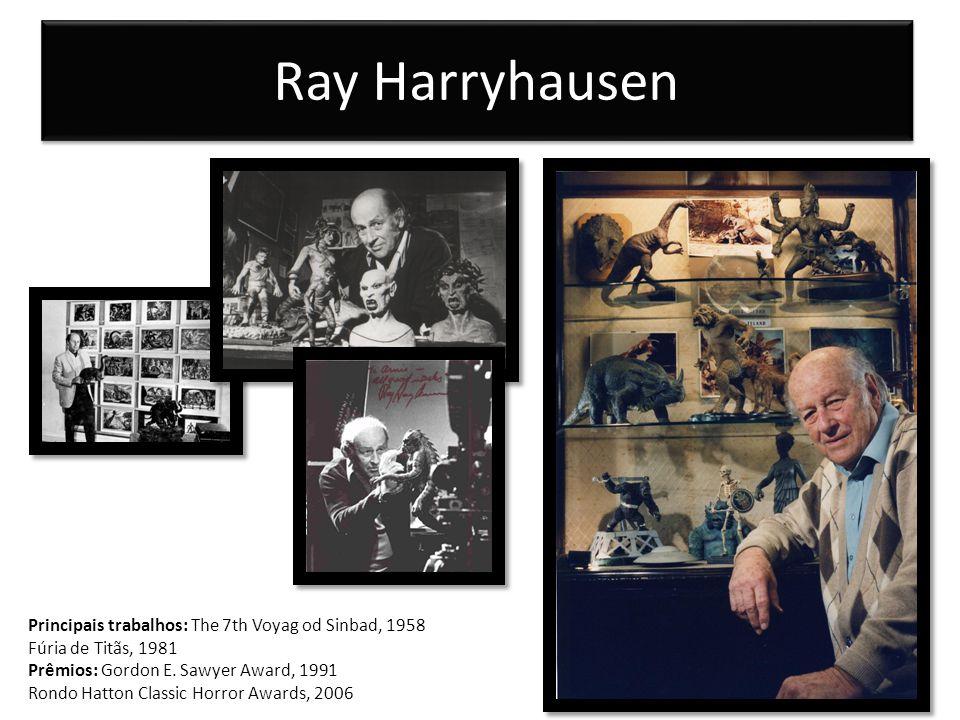 Ray Harryhausen Principais trabalhos: The 7th Voyag od Sinbad, 1958