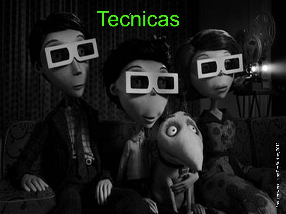 ´ Tecnicas Frankenweenie, by Tim Burton, 2012