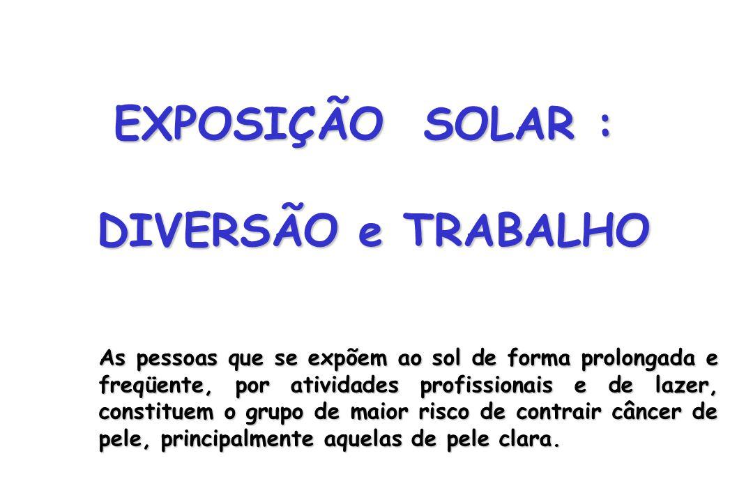 EXPOSIÇÃO SOLAR : DIVERSÃO e TRABALHO
