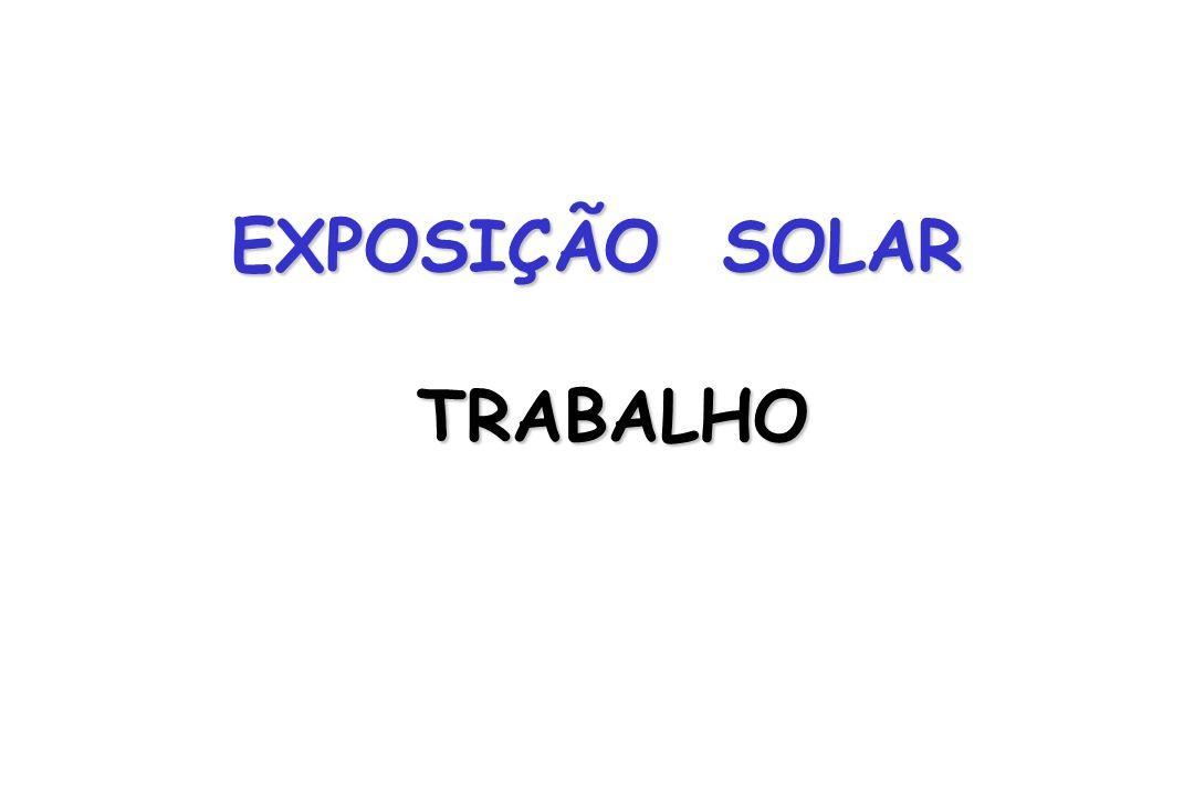 EXPOSIÇÃO SOLAR TRABALHO