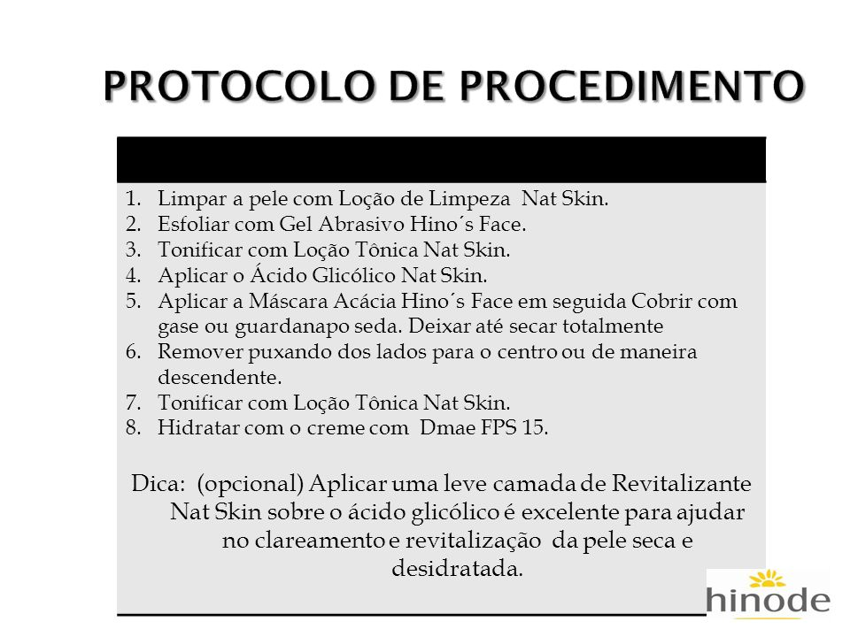 PROTOCOLO DE PROCEDIMENTO