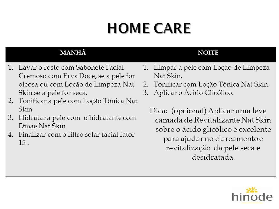 HOME CARE MANHÃ. NOITE.