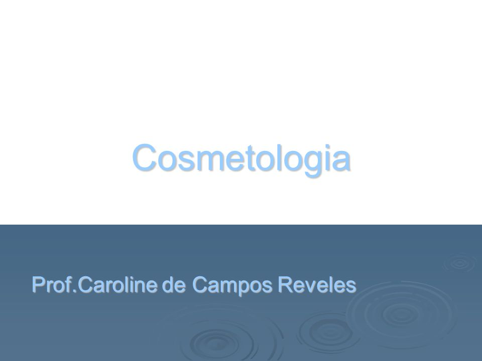 Prof.Caroline de Campos Reveles