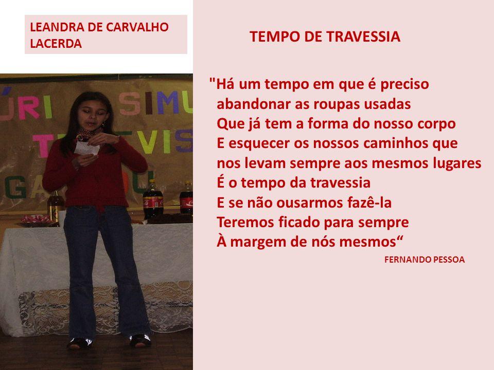 LEANDRA DE CARVALHO LACERDA
