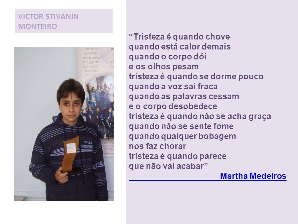 VICTOR STIVANIN MONTEIRO