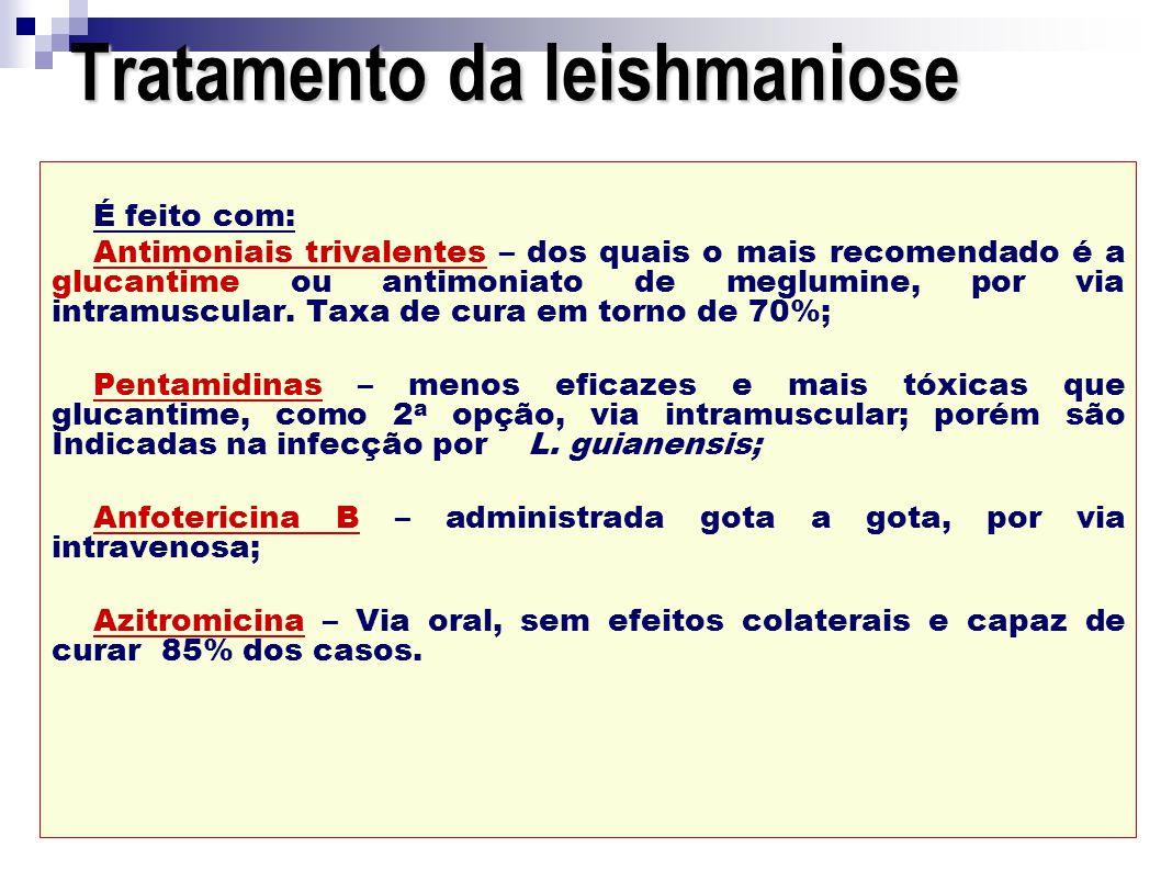 Tratamento da leishmaniose