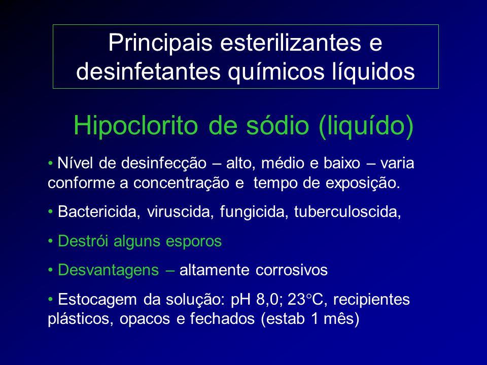 Hipoclorito de sódio (liquído)