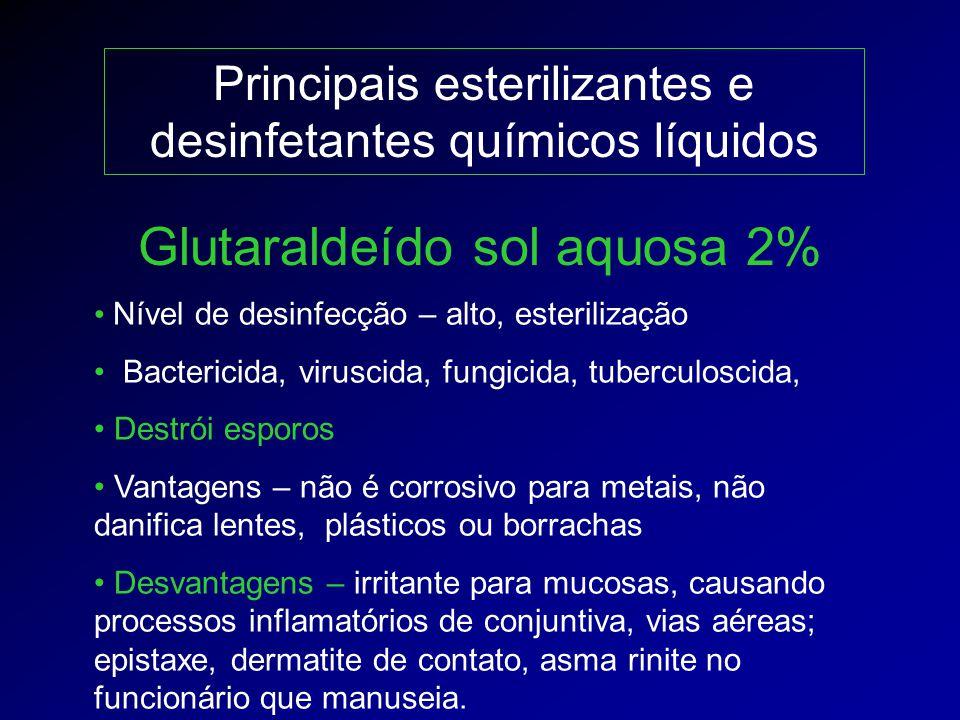 Glutaraldeído sol aquosa 2%