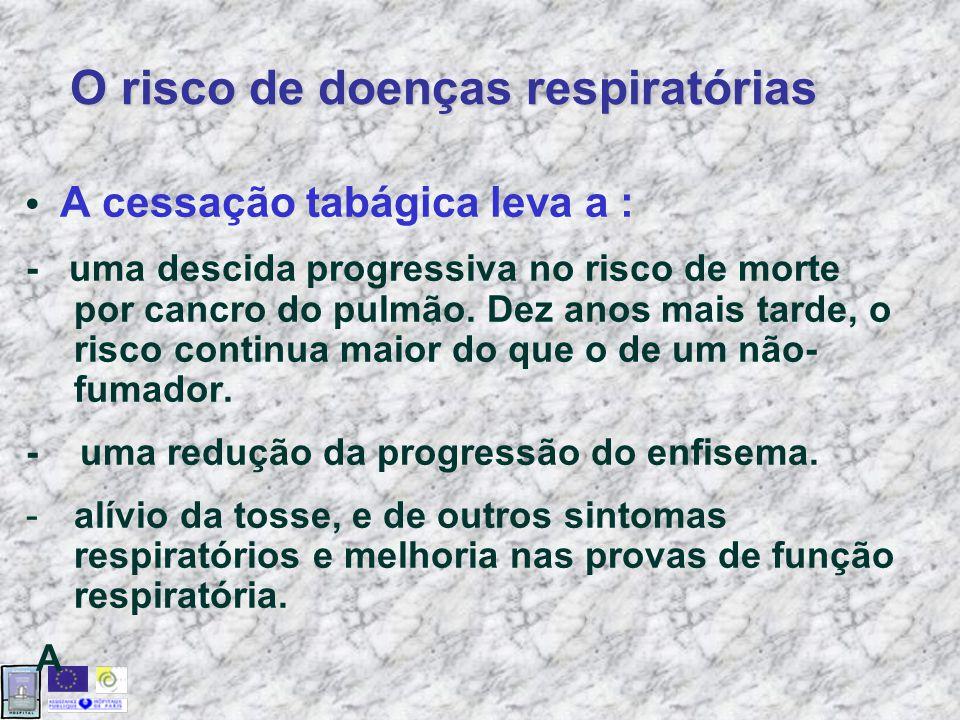 O risco de doenças respiratórias