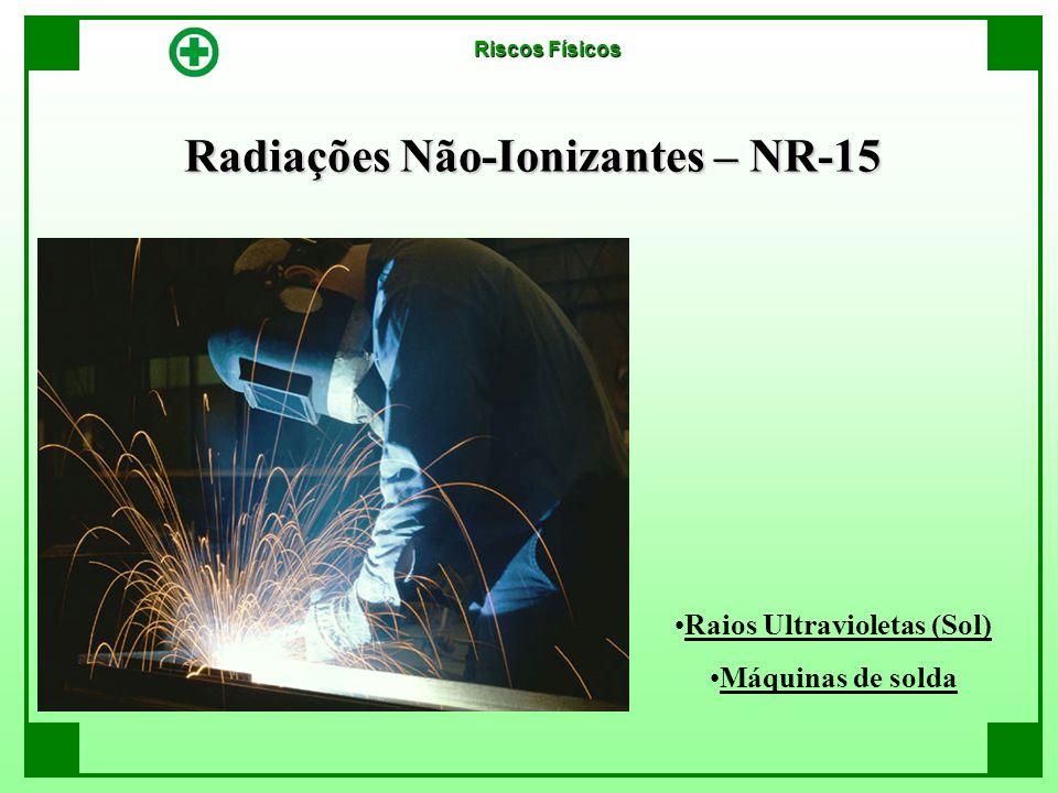Radiações Não-Ionizantes – NR-15 Raios Ultravioletas (Sol)