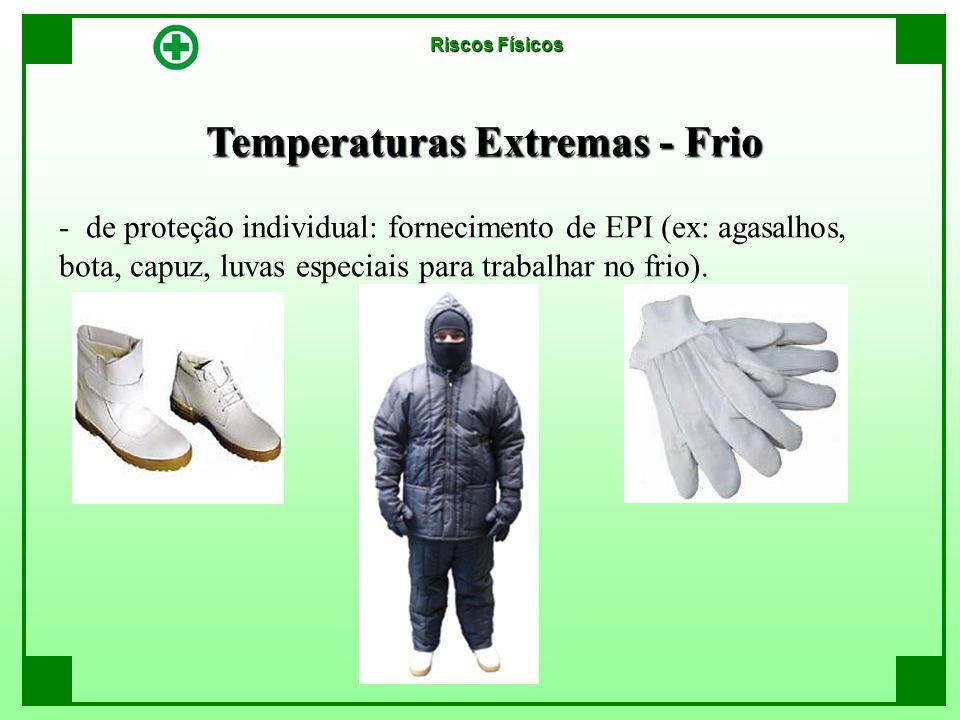 Temperaturas Extremas - Frio