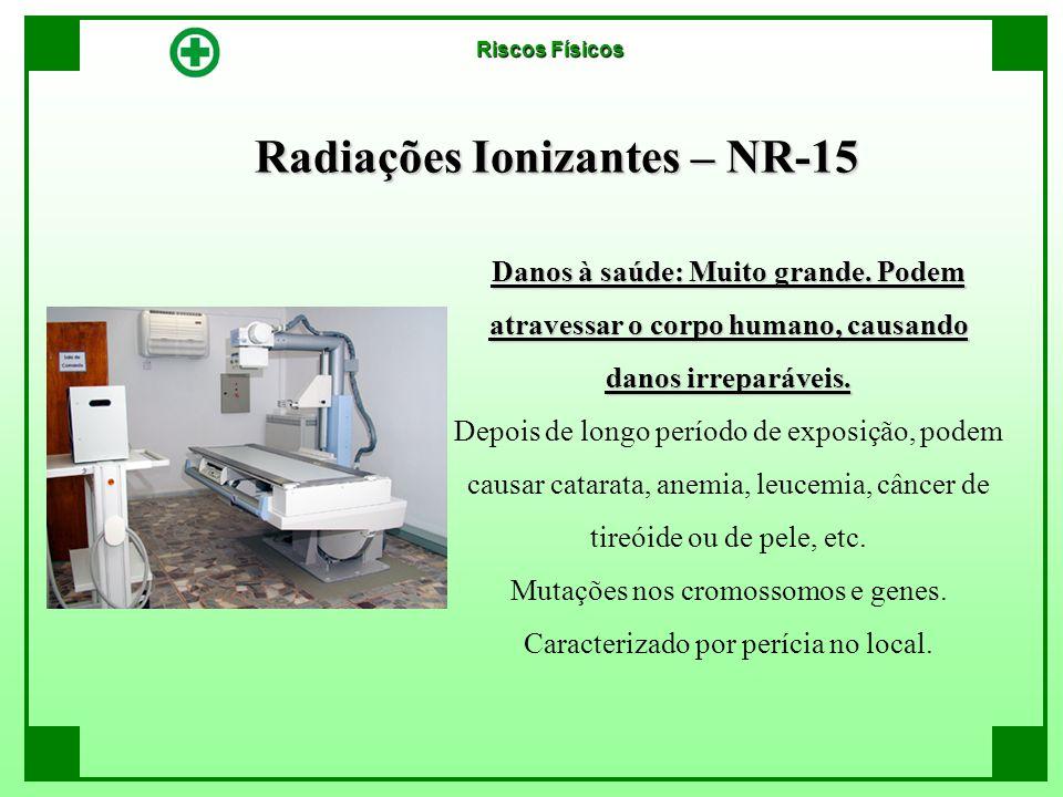 Radiações Ionizantes – NR-15