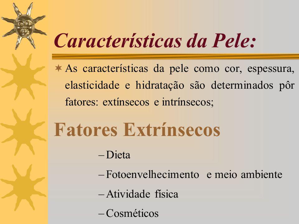 Características da Pele: