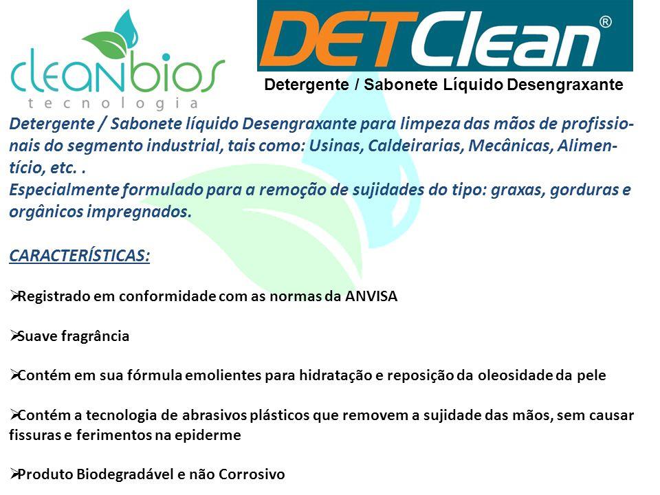 Detergente / Sabonete Líquido Desengraxante