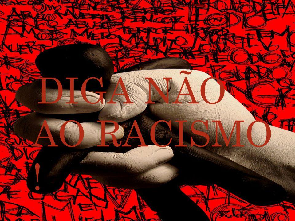 DIGA NÃO AO RACISMO !