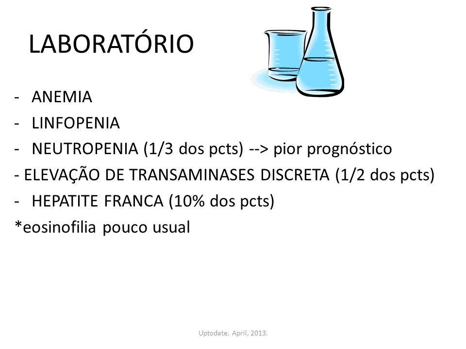 LABORATÓRIO ANEMIA LINFOPENIA