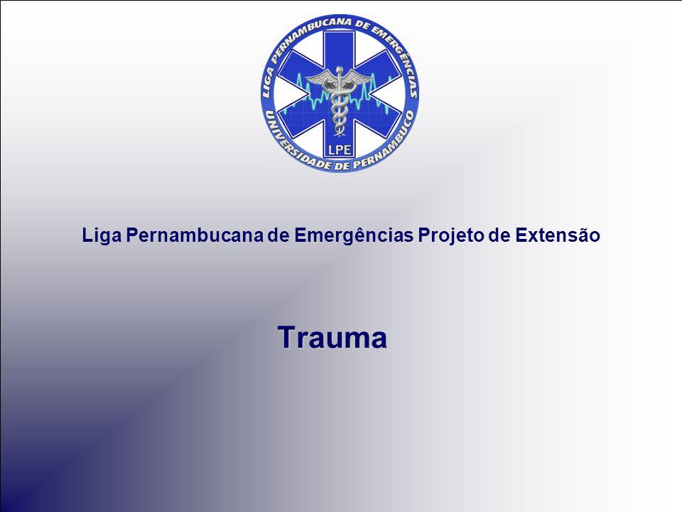 Liga Pernambucana de Emergências Projeto de Extensão