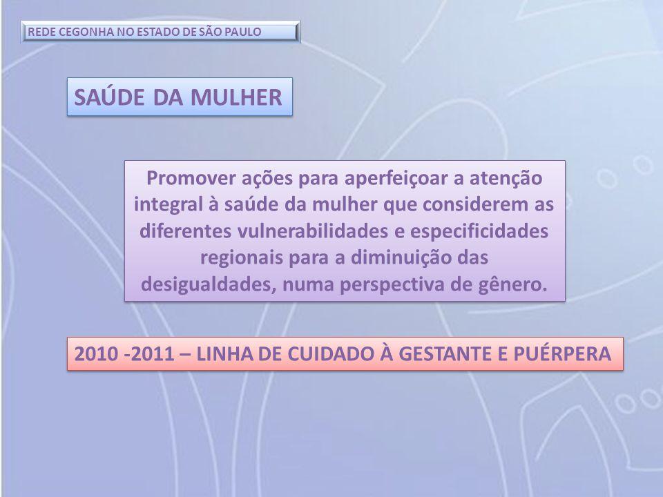 REDE CEGONHA NO ESTADO DE SÃO PAULO