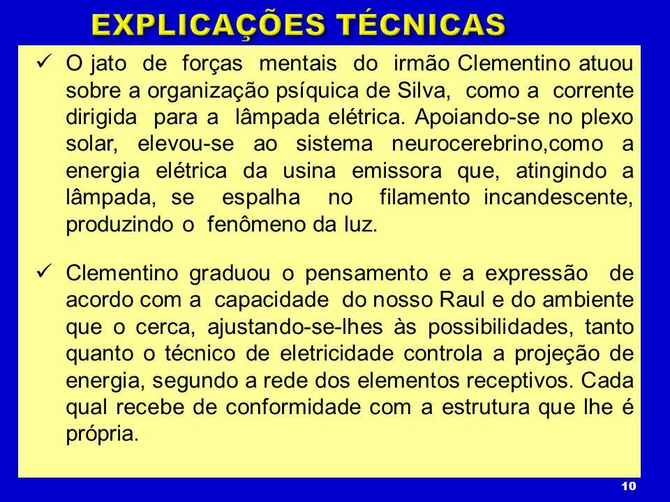 EXPLICAÇÕES TÉCNICAS