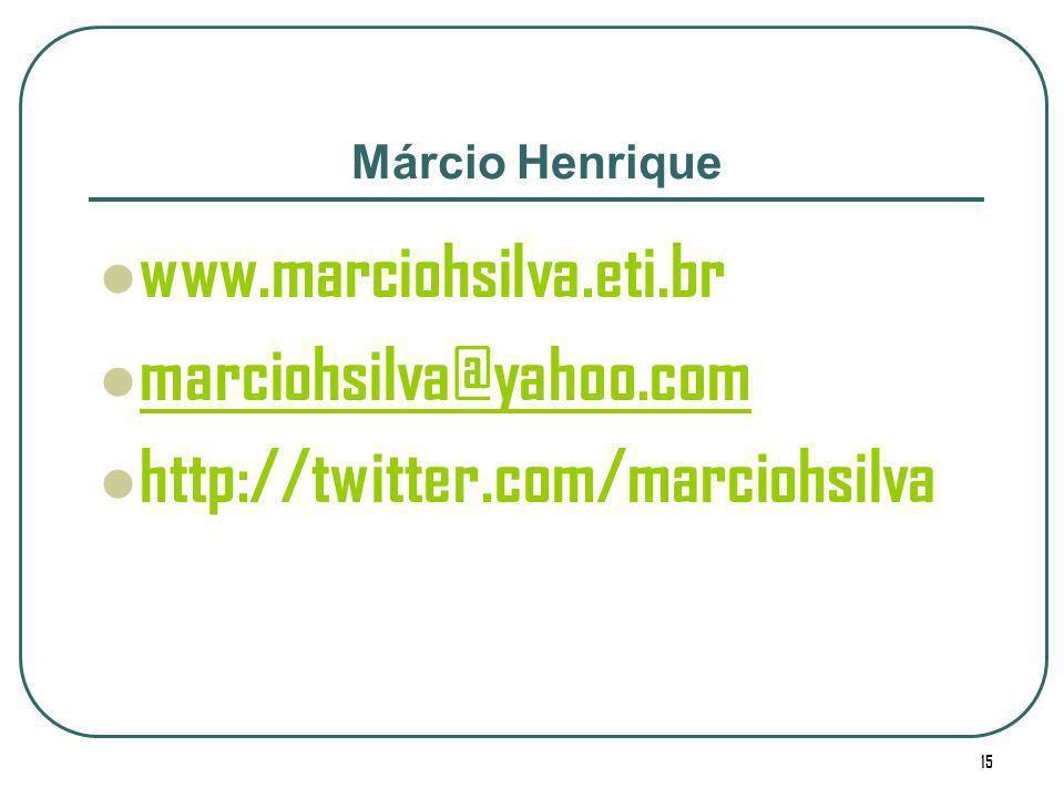 www.marciohsilva.eti.br marciohsilva@yahoo.com