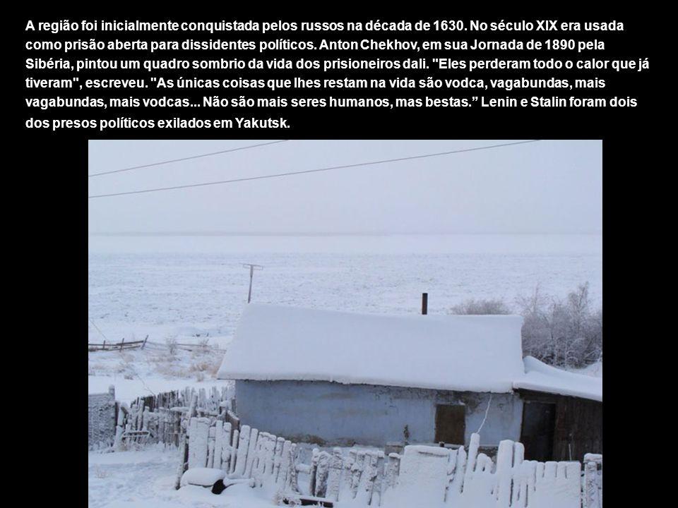 A região foi inicialmente conquistada pelos russos na década de 1630