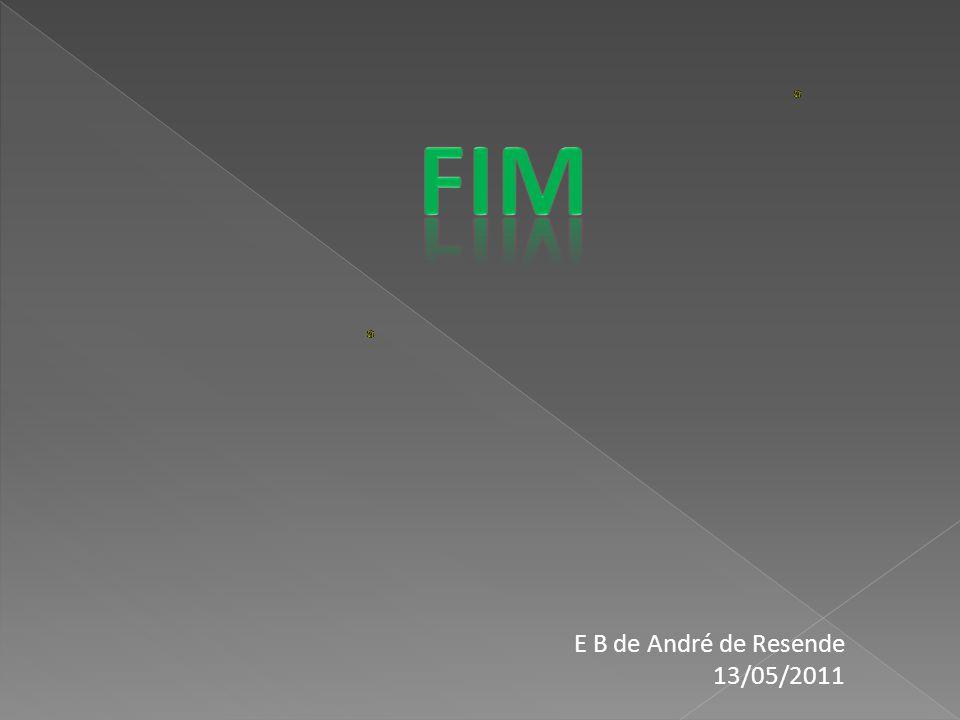 FIM E B de André de Resende 13/05/2011