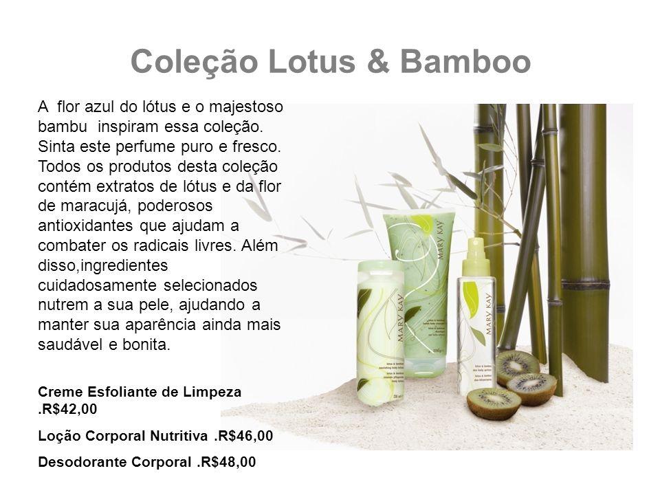Coleção Lotus & Bamboo