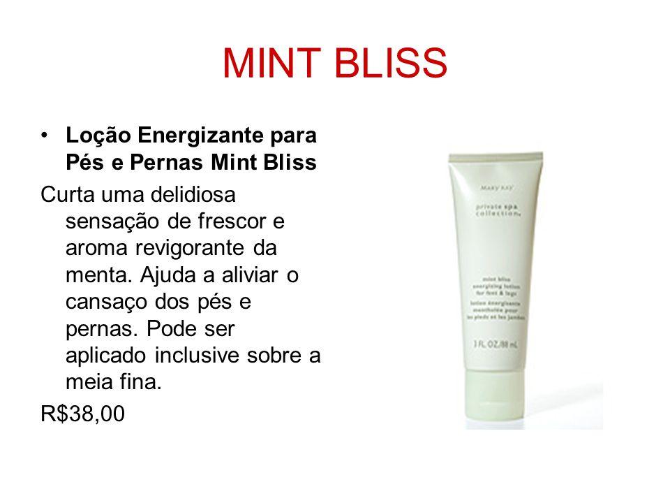 MINT BLISS Loção Energizante para Pés e Pernas Mint Bliss