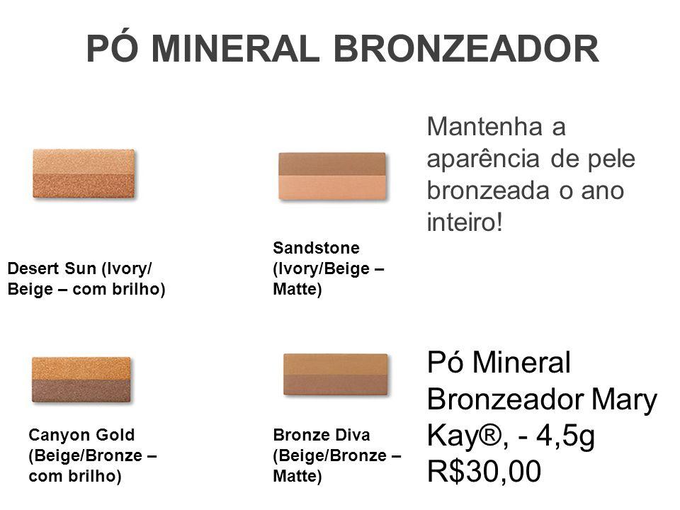 PÓ MINERAL BRONZEADOR Pó Mineral Bronzeador Mary Kay®, - 4,5g R$30,00